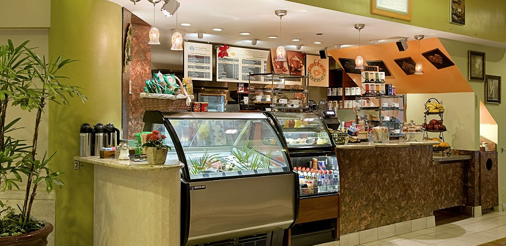 Hilton Los Angeles Universal City coffee corner